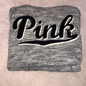 Grey PINK hoodie
